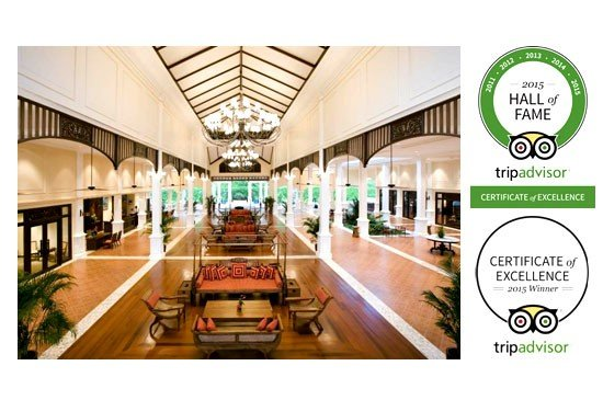 Sofitel Krabi Phokeethra Golf & Spa Resort awarded 2015 trip advisor certificate of excellence for five consecutive years