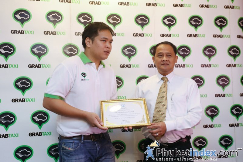 Government officially welcomes GrabTaxi into Phuket