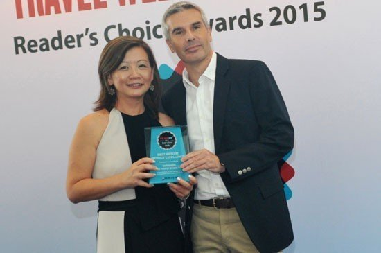 Chua and Pedroni: Best Resort (Service Excellence) winner