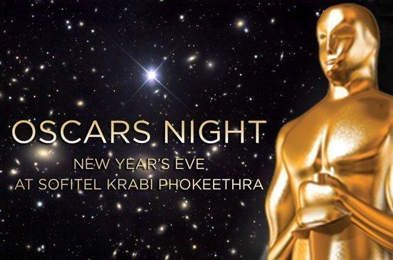 Oscars night new year's eve party & gala dinner at Sofitel Krabi