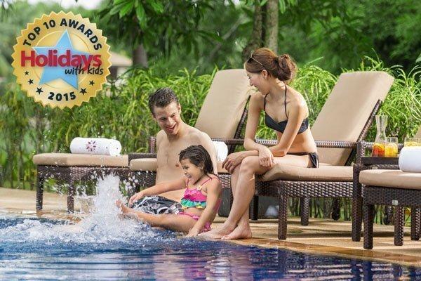 Angsana Laguna Phuket Voted for Top 10 Family Resorts 2015 by Holidays with Kids