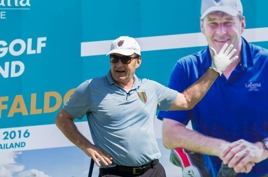 Laguna Golf Appoints Sir Nick Faldo as Brand Ambassador at the Exclusive Golf Weekend at Laguna Phuket