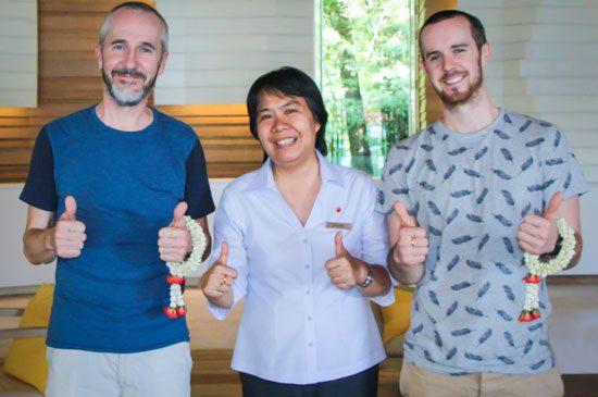 Famous UK celeb visits Amari Phuket