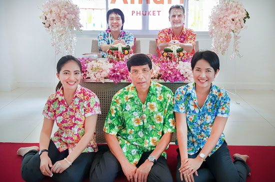AMARI PHUKET ORGANISES A FUN-FILLED SONGKRAN CEREMONY