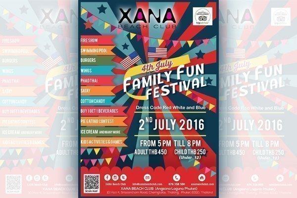 Family Fun Beach Festival Brings the 4th of July Spirit to XANA Beach Club