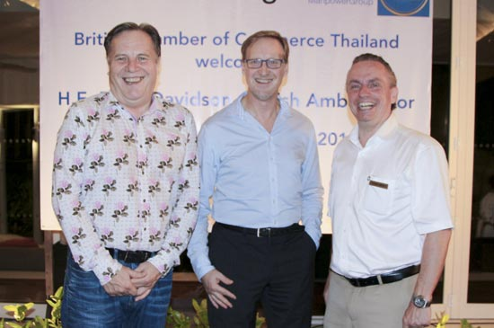 BCCT members meet new british ambassador at Amari Phuket