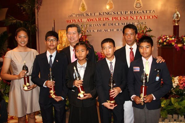 Royal Awards Ceremony marks end to 2012 Phuket King's Cup Regatta