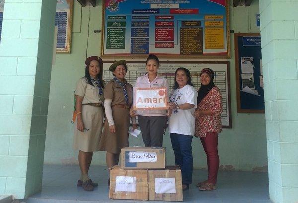 Amari Phuket donates to Ban Sainamyen School