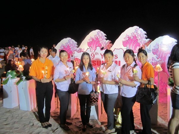 Amari Phuket participated in Light Up Patong ceremony