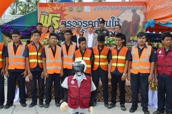 Phuket opens free car check centre