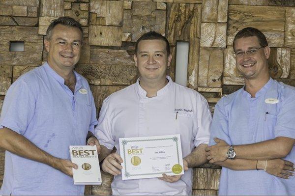 """Regent Phuket's The Grill"""" included in Thailand Tatler Best Restaurant Guide 2014"""