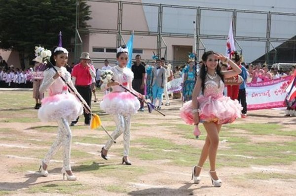 Muang Phuket School holds annual sports event