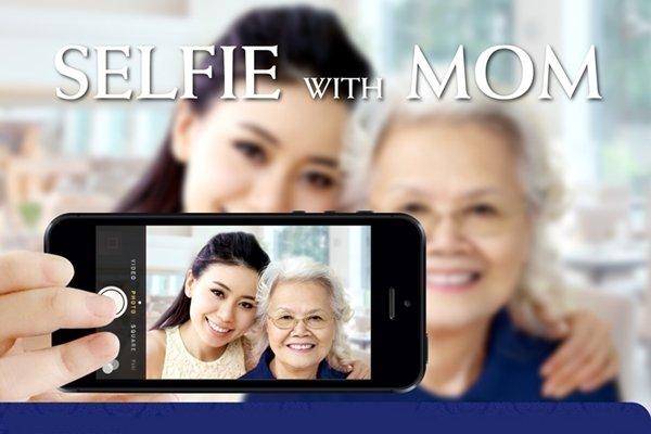 Suite Selfie with Mom @ Dusit Thani Phuket