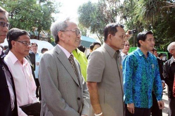 Environment Minister visits Phuket Incinerator