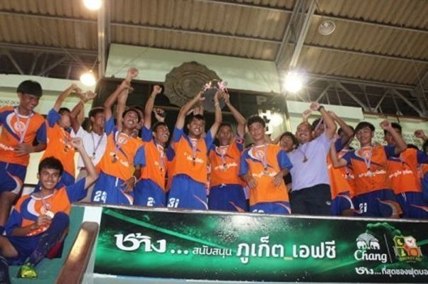 Muang Thalang School 2014 Junior League Football Champs