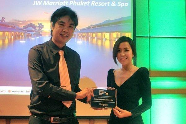 JW Marriott Phuket one of the Top Hotels Worldwide