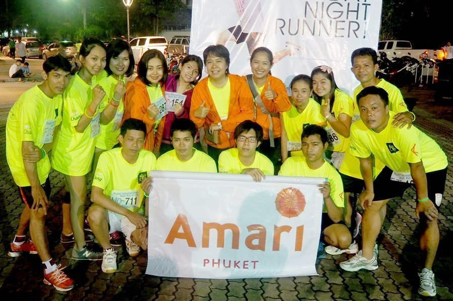 Amari Phuket competes in Phuket Night Run