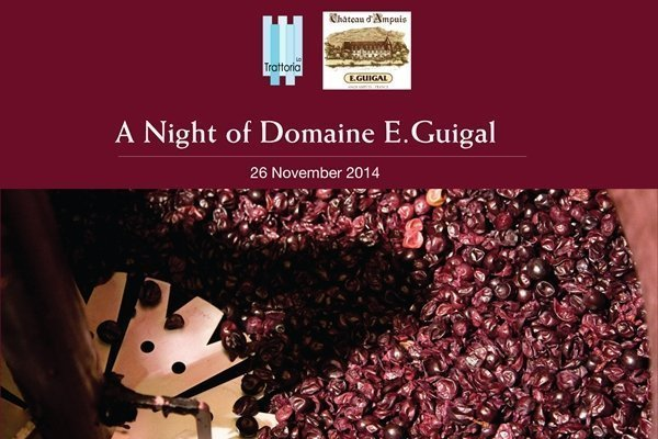 Domaine E.Guigal Wine Dinner at Dusit Thani Phuket