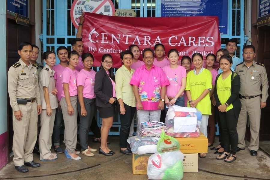 Bra Charity Donation by Centara Phuket
