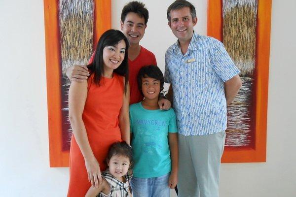 Centara West Sands Phuket welcomes famous Thai family