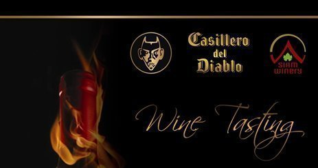 Casillero Del Diablo wine testing at Sofitel Krabi Phokeethra Golf and Spa