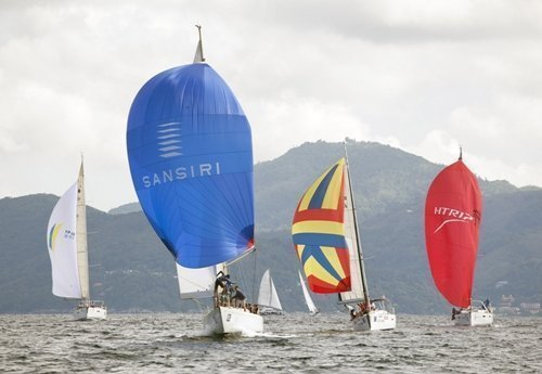 Sansiri Windstar wins 'Modern Classic' class at  2014 Phuket King's Cup Regatta