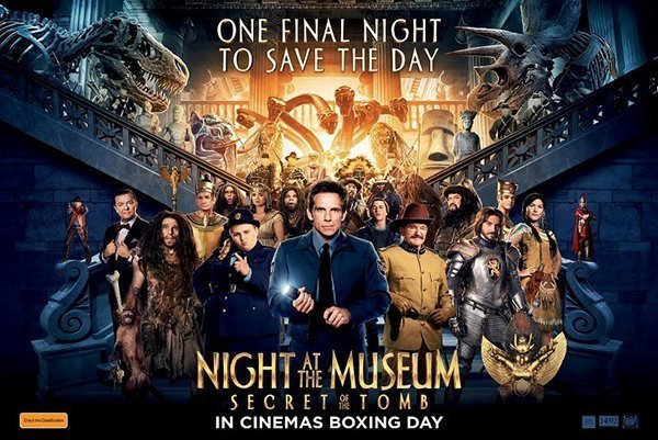 Phuket Now Showing – Night at the Museum: Secret of the Tomb