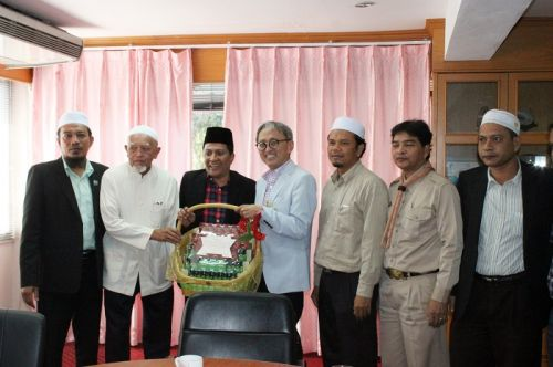 Visit By Representatives Of Islamic Committee Phuket And Other Islamic Organizations