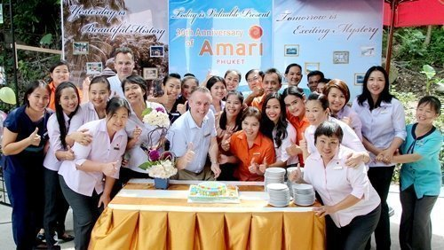 AMARI PHUKET CELEBRATES ITS 30TH ANNIVERSARY