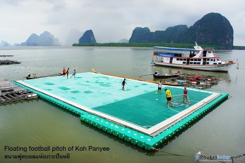 Photo of the day: Floating football pitch of Koh Panyee