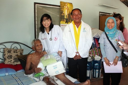 PPAO To Visit PatIences Who Live In Tambon Thepkasattree – Phuket Care Campaigne