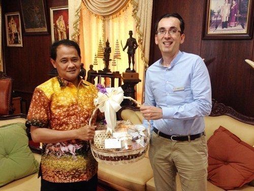 JW Marriott Phuket Resort & Spa visited Phuket Governor  for Seasons Greetings