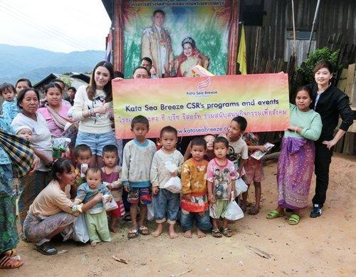 Kata Sea Breeze support faraway hill tribe children