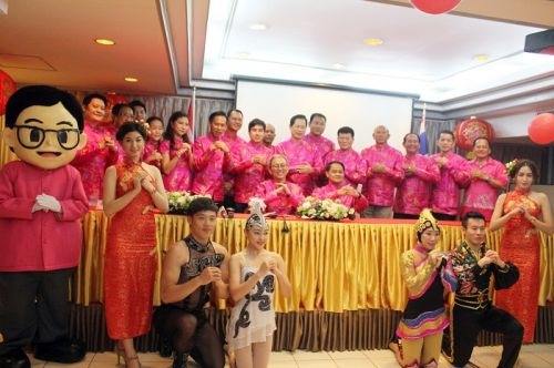 PPAO Holds Press Conferance On Chinese New Year 2015 Celebration