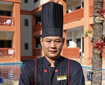 New Executive chef at Kata Sea Breeze Resort