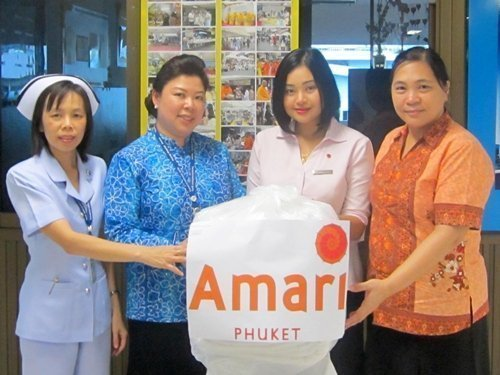Amari Phuket Makes A Donation To Patong Hospital