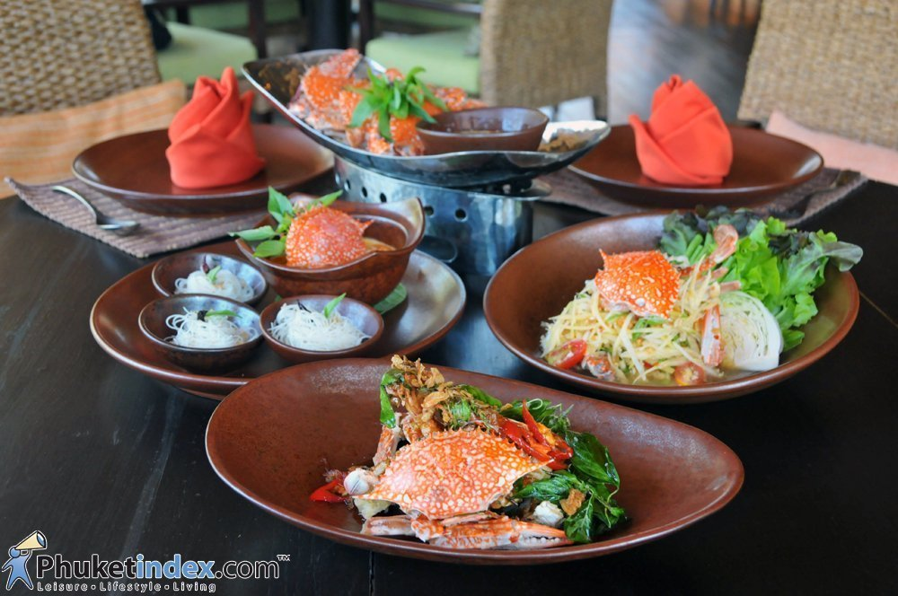 Blue Crab Promotion at  Takieng, Renaissance Phuket Resort & Spa