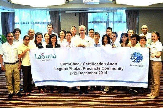 Laguna Phuket celebrates EarthCheck Silver Certification