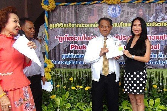 Central Festival Phuket makes 100,000 THB for Nepal