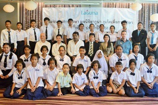 2015 Laguna Phuket Foundation Scholarship Presentation