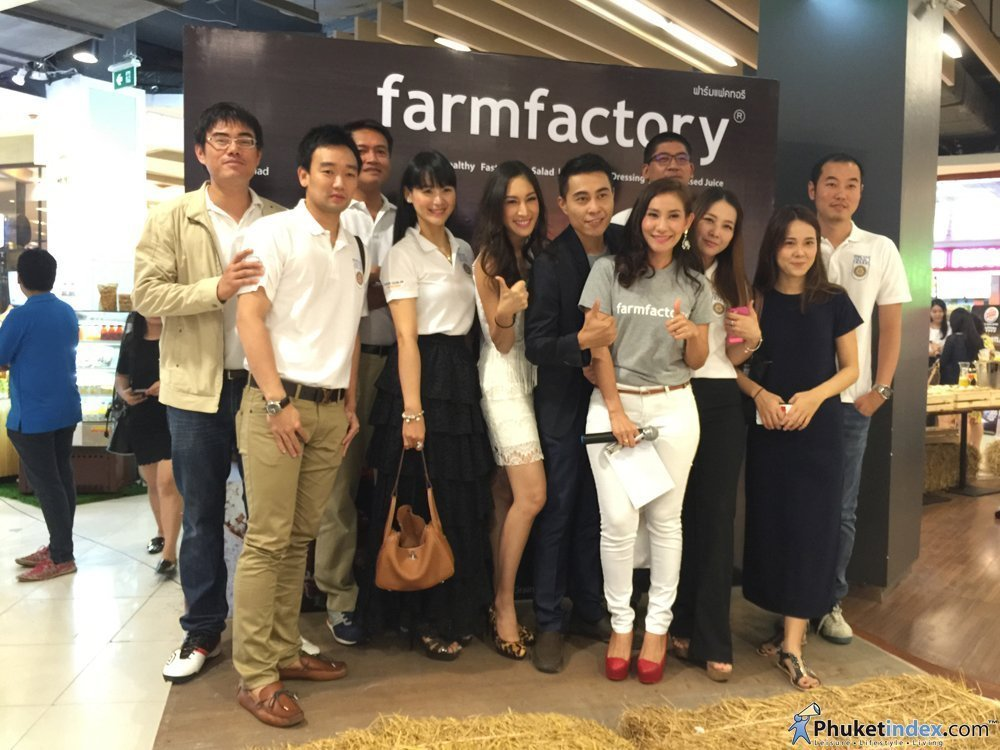 Grand opening of Farmfactory at Central Festival Phuket