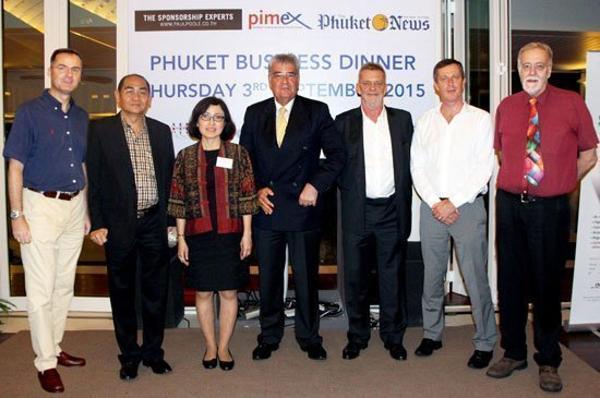 Amari Phuket welcomes the top VIPS of The British Chamber of Commerce