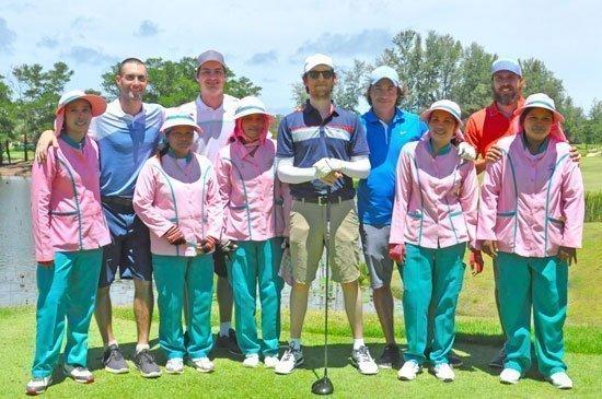 Maroon 5 swings by the new Laguna Phuket Golf Club