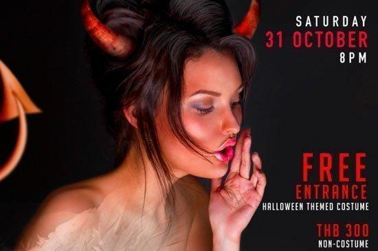 Xana Beach Club Halloween – Demons and Angels in Phuket