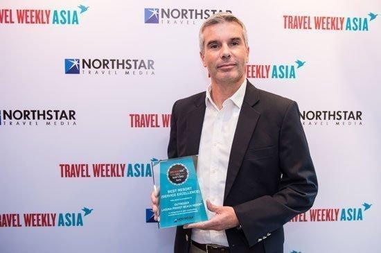 Outrigger Wins Service Excellence Award