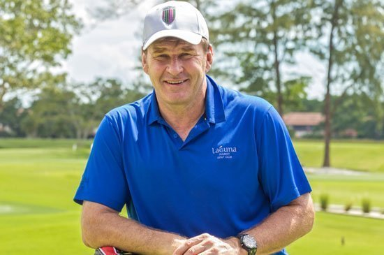 Sir Nick Faldo visited the award-winning Laguna Phuket Golf Club