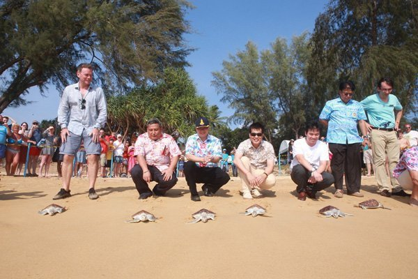 The 7th Mai Khao Marine Turtle Release Ceremony on Songkran Day