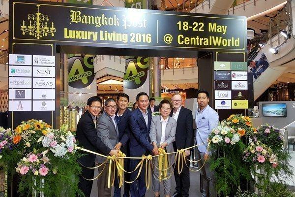 Emerald Development Group has exhibited in Bangkok Post Luxury Living 2016