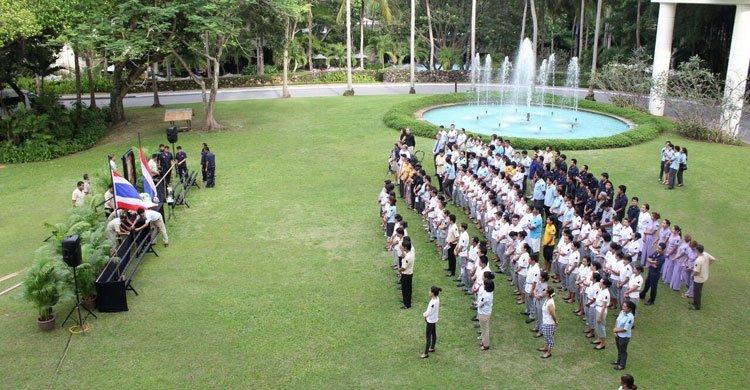 Candle lighting Ceremony at Hilton Phuket
