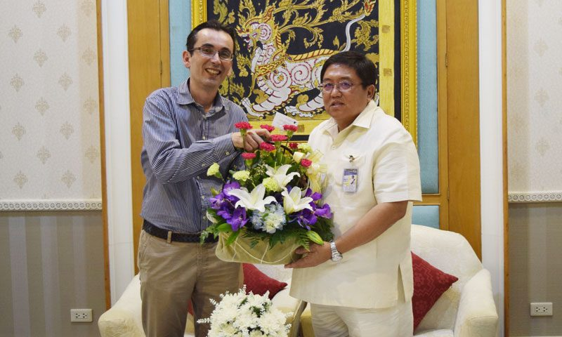 Congratulations! New Phuket Governor is onboard